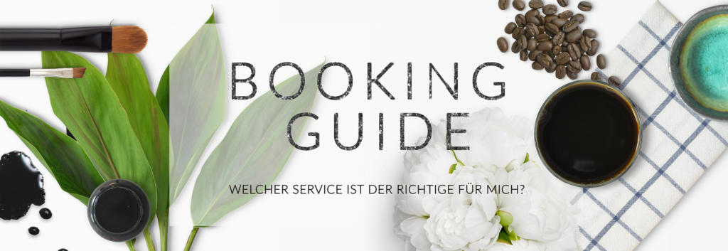 Booking Guide Header deutsch