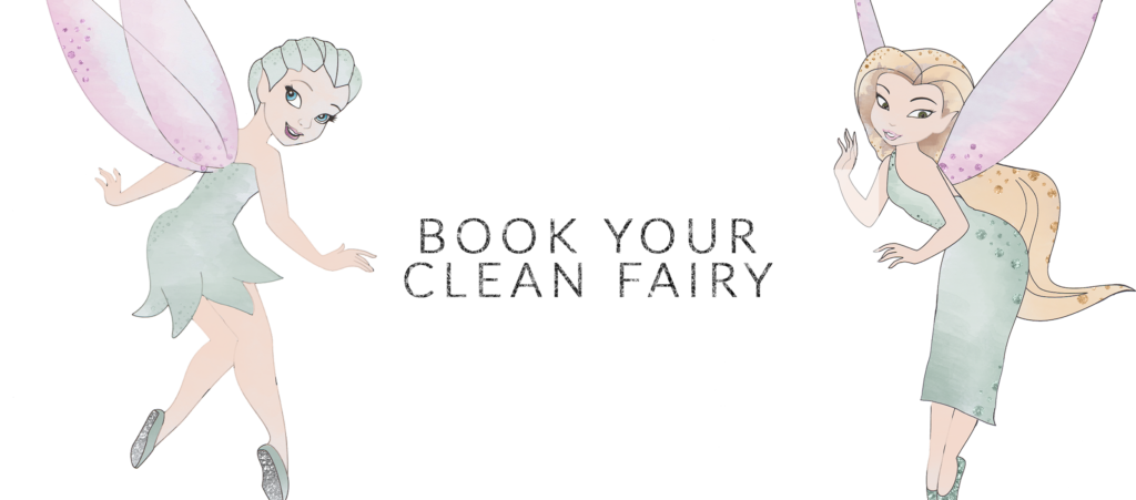 book your clean fairy mockup